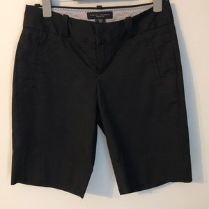 Banana Republic Martin fit black shorts